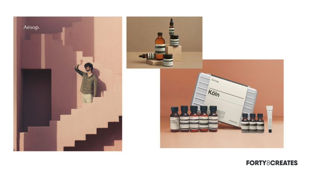 Aesop campaign collage