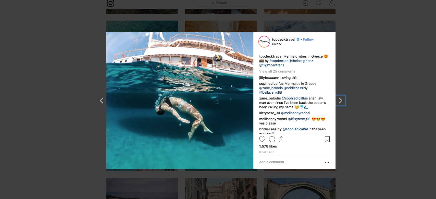 Top Deck-Travel-instagram-overview-travel-marketing-guide