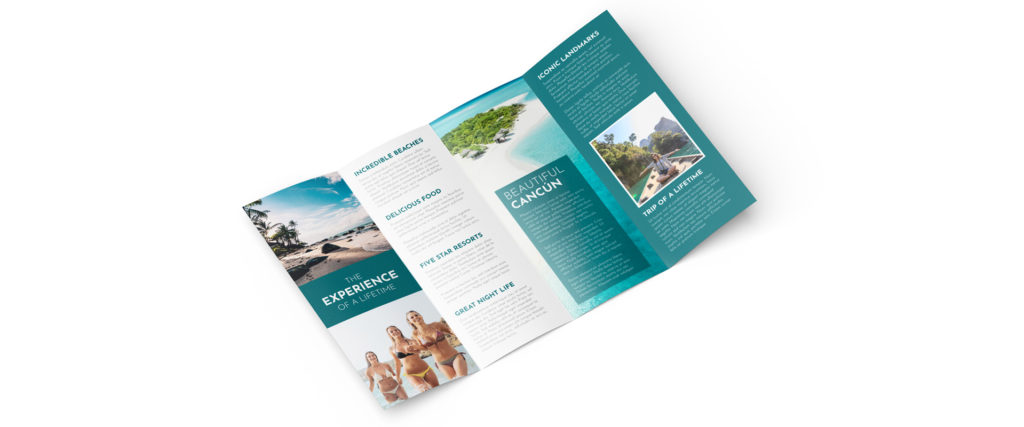 How To Make a Travel Brochure and Leaflet