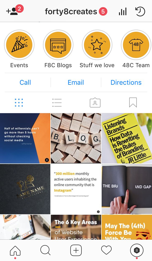 ATTACHMENT DETAILS highlights-example-F8C-Insatgram-stories-blog-post-Social-media-digitla-marketing-communications-blog